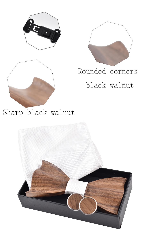 Kolmeosaline komplekt puidust kikilipsuga