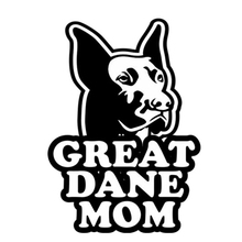8.9cm*12.5cm Great Dane Mom Fashion Car Sticker Vinyl Decal S4-0750(China)