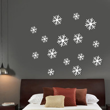 3D Luxury Mirror Wall Stickers Snowflake Wall Decal Modern Acrylic Home Decor