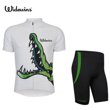 crocodile team cycling jersey/road original high quality bike clothes/sport newest hot sale discount adult's cycling shirts 5111(China)