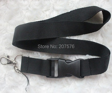 Free  shipping  50pcs blank  Solid  Blank neck Lanyard for ID Key chain Cell Phone, Neck Strap Lanyards ch-29