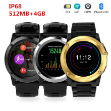 GOLDENSPIKE H1 Waterproof IP68 Smart Sport Watch Bluetooth Smartwatch with Camera Support GPS/ WIFI Heart Rate monitor Pedometer