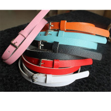 Trendy 8 Colors Exquisite Waist Belt Pretty Faux Leather Thin Skinny Waist Belt Summer Dress Accessories for Women Lady