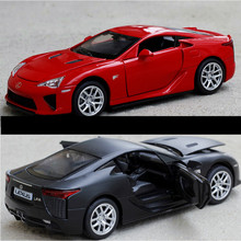 Double Horses 1:32 Collection Toys Car Styling LEXUS LFA Model Alloy Supercar Model The Fast and the Furious toy gift(China)