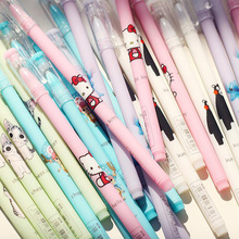 L33 2X Cute Kawaii Hello Kitty Jelly Gel Pen Writing Signing Pen Creative Gift Stationery Kid School Office Supply