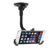 NEW Universal Car Holder Cell Phone Car Windscreen Suction Mount Holder Stand Cradle For iphone 5s/6/6s/7 for xiaomi for Samsung(China)