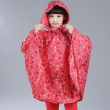 High Quality Poncho Children Raincoat Waterproof Kids Raincoat Student Rainwear Cloak Type Rain Coat Home Supplies Rain Gear