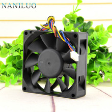 NANILUO Free Delivery. 8025 8 cm large air volume fan 12 v 0.54 A DBTA0825B2U PWM intelligent speed