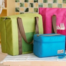 Wholesale  Large Waterproof Lunch Bag Ice Cooler Insulation Picnic Travel Storage Bag Cooler Bag