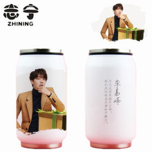 1 PC newest stainless steel thermo cup famous movie star water bottles Cola cup series travel cup drinkware free shipping Y-438(China)