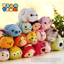 Hot Sale Tsum Tsum Plush toy Mickey doll Duck toys Cute elf doll Screen Cleaner for iPhone tsum tsum Plush toy