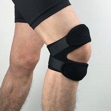 1 Pc Adjustable Sports Knee Pad Protector Outdoor Fitness Gym Hiking Running Patella Leg Guard shop BB55(China)