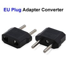 EU US AU Plug Adapter Converter European American Australia AC Travel Power Electrical Socket Outlets