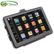 7 inch bluetooth MTK GPS, car gps 7 inch AVin 800MHz 4G 128M 800*480 MP3 MP4 FM ,offer free maps and free shipping
