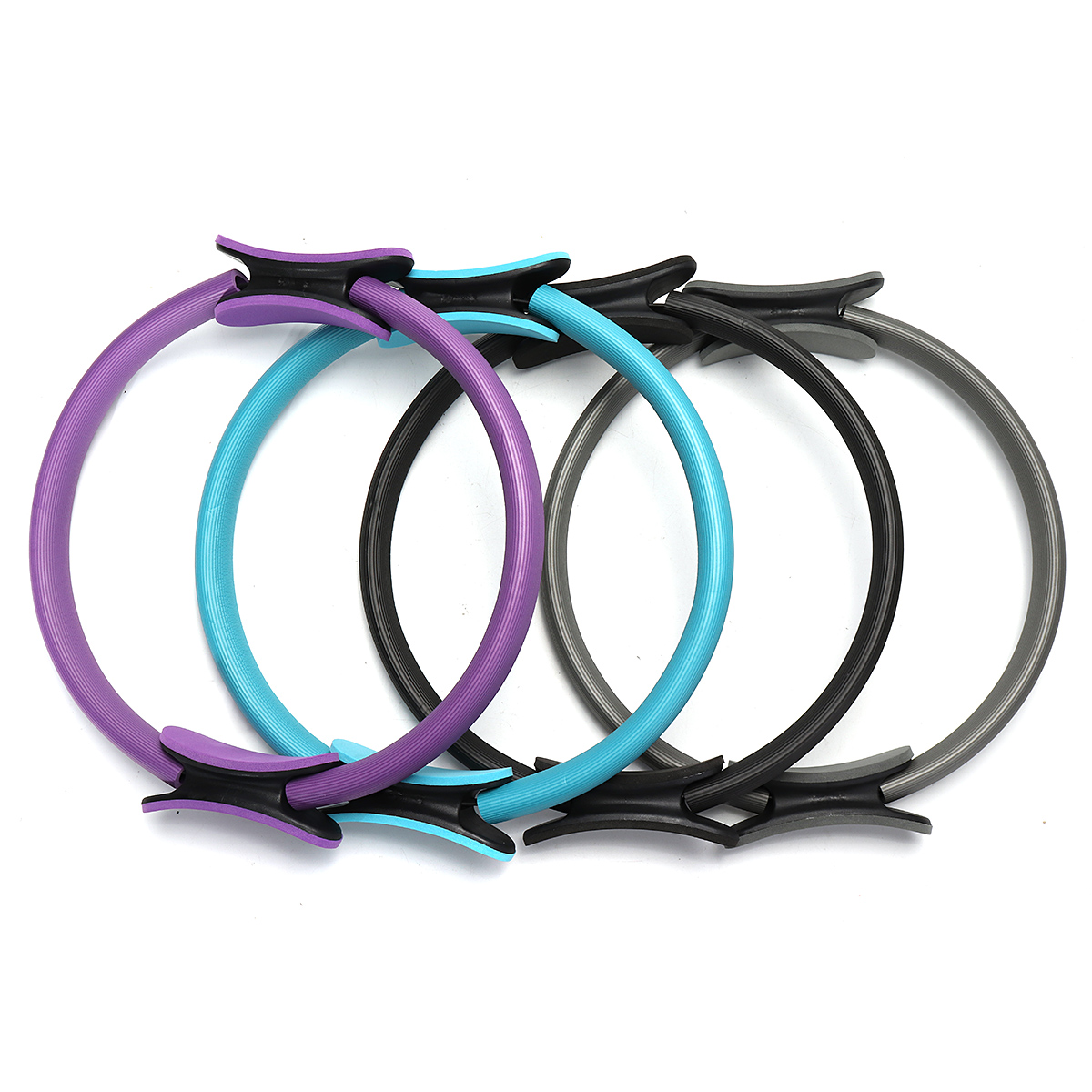 Dual Grip Pilates Ring Magic Circle Body Sport Exercise Fitness Weight Slimming Yoga Tool Body Building Training Yoga Circle