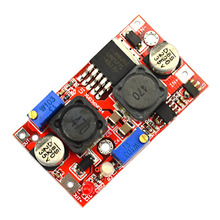 LX2577 Automatic Buck-Boost LED Constant Current Power Supply Module - Red(China)