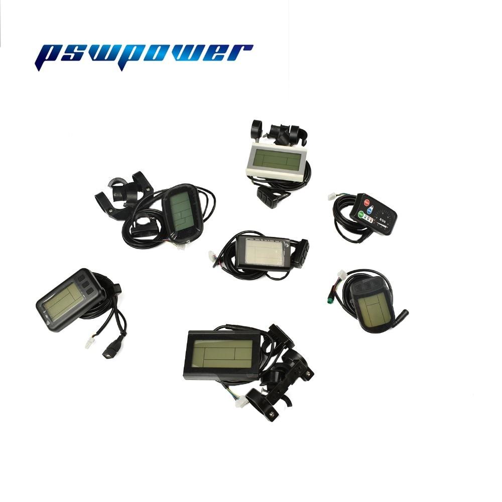 48V 1500W Brushless DC Sine Wave Controller+LCD+Throttle+PAS+Speed Sensor+Brakes