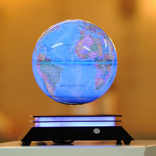 inch magnetic levitation globe led the opening ceremony at the end of the year birthday gifts high-grade desk ornaments