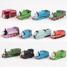 12 Pcs/Set Thomas And Friends Train PVC Model Collection Toys Car Complete Baby Birthday Gift Kids Toys