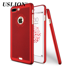 Buy iPhone 6 6s 7 7 Plus Cases Luxury Ultraslim Hollow Heat Dissipation Hard PC Phone Back Cover Case Coque iPhone 7Plus for $1.43 in AliExpress store
