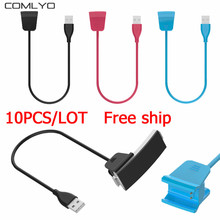 10PCS/LOT wholesale 55mm Fast Charging USB Clip Design Chargers for Fitbit Alta HR charger Band Wristband Bracelet High Quality