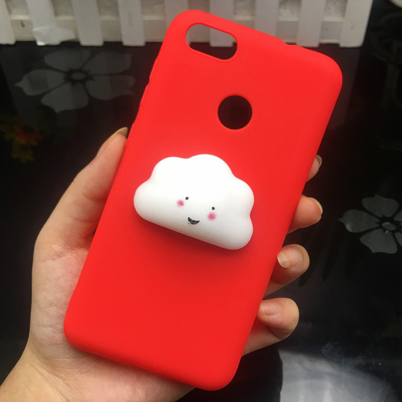 3d Squishy Cat Silicon TPU Soft Cases For Huawei P20 lite P20 pro P9 lite mini 2017 Candy Color Back Cover Honor 8 lite P10 plus (10)