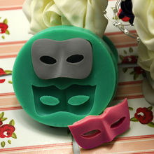 Dance mask Halloween soap silicone mold fondant cake decorating tools chocolate candy 3d fondant mould cake topper