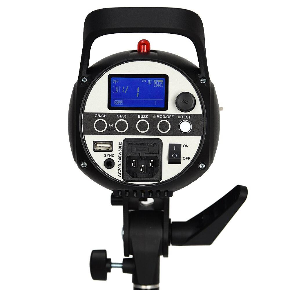 Godox SK300II Studio Flash With 2.4G Wireless X system+Bowen mount standard cover Gift (1)