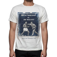 Boxinger Fight T Shirt Rocky Marciano vs Joe Walcott M47