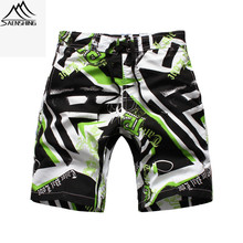 Saenshing new Gsou beach board shorts boys bermuda surf swimming shorts for kids child summer breathable boardshorts short board