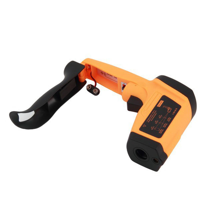 GM1150 LCD Digital Non-Contact Laser IR Infrared Thermometer Temperature Meter Gun Point -50 to 1150 Degree<br>