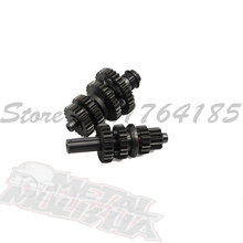 Original Lifan 125 125CC Gear Box horizontal engine main countershaft gear teeth Lifan engine parts 125LF08(China)