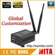 Full HD 1080P H.265 HEVC ONVIF sdi hd encoder 4g for Live Broadcast to VLC Media Server Xtream Codes(China)