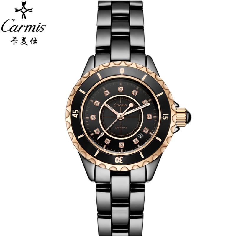 Relogios femininos relojes 2017 brand design new fashion true ceramic women luxury clock ladies wristwatches Girl Dress watches<br><br>Aliexpress