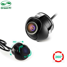 GreenYi Free Shipping, Mini Waterproof Auto Rearview CCD Camera Car Rear View Camera For Car DVD Monitor Parking System