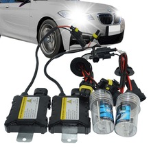 35W Xenon HID Conversion Kit Car Headlight Head Lamp High Low Beam Silm Ballast H1 H4-3 H7 H11 D1S D2S D2R Replacement Bulbs