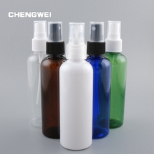 CHENGWEI 100ml Portable Empty Refillable Liquid Make Up Container Plastic Atomizers Spray Bottle Liquid Container 10Pcs/Lot(China)