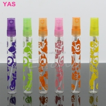 6Pcs 10ml Rose Crystal Cut Glass Perfume Spray Bottles Atomizer Refillable Empty -Y207 Drop Shipping