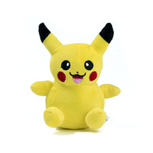 "5.5"" Pikachu Plush Toys 14cm Cute Pikachu Stuffed Toy Doll For Kids Birthday Christmas Gift(China)"