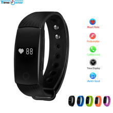 TimeOwner ID107 Fitness Tracker Smart Wristband Pulsometert Heart Rate Monitor Smart Band Pedometer Smart Bracelet