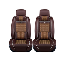 Special leather only 2 front car seat covers For Benz A B C D E S series Vito Viano Sprinter Maybach CLA CLK auto accessories