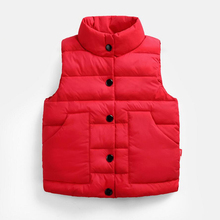 3 Colors Baby Top Clothes Children Autumn Winter Warm Vest Waistcoats Kids Sports Jacket Boys Coat Casual Sleeveless Outerwear