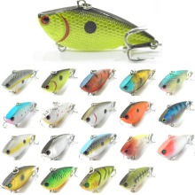 wLure Fishing Lure  Lipless Trap Crankbait Hard Bait  Deep Water Bass Walleye Crappie Minnow  L540
