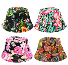 5 Pcs/lot Explosion Models Small Suihua Sweet Flower Visor Caps Fisherman Hat Basin Cool Fashion Charming Women Cap Multi Color(China)