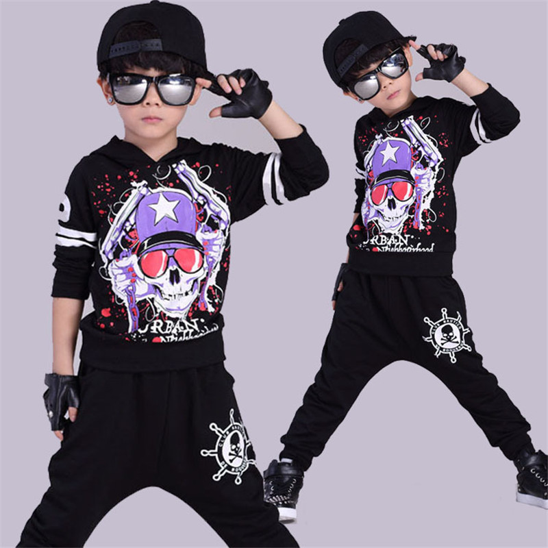 Boys clothing 4-13T childrens sports suits cotton kids tracksuit pullover suit for boys teenage girls clothing fashion children<br><br>Aliexpress
