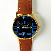 DHL free shipping 100pcs/lot,Low Price Good Quality Cheap Hot Retro Sudoku Game Snapshots Vintage Fashion Quartz leather Watch(China)