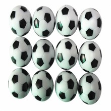 babyfoot table football Quality 36mm Mini Football Adult board games  12 pcs BALLS Quality Indoor Board game 24g/pcs