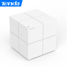 Tenda Nova MW6 Whole Home Mesh Wireless WiFi System With Smart Dual Band 2.4G/5.0GHz WiFi Wireless Router , Distributed Routing(China)