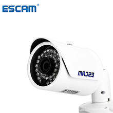ESCAM Fighter QD320 H.264 Dual-stream Encoding IR Bullet IP Network Camera HD 720P 1.0MP CMOS Adjustable IP66 Waterproof Shell