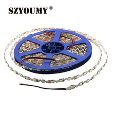 SZYOUMY 5M LED Strip 5050 300 Leds 12V 8mm S Shape Signages Channel Light Strip Bendable Billboard Lamps Replace LED Module